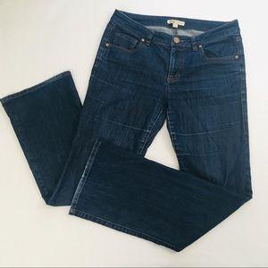 CAbi  Dark Wash Flare Jeans 203R Women's Size 6